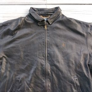 all leather POLO by RALPH LAUREN jacket 2xxl